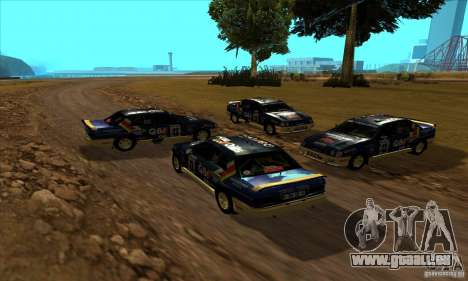 Ford Sierra RS500 Cosworth RallySport pour GTA San Andreas vue arrière