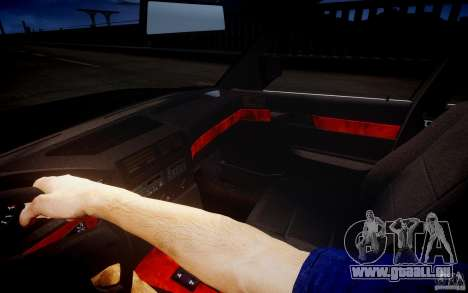BMW 535i pour GTA 4 vue de dessus