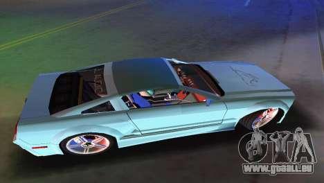 Ford Mustang 2005 GT pour GTA Vice City vue arrière