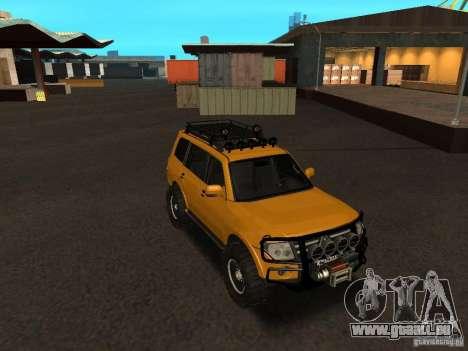 Mitsubishi Pajero OffRoad v2 für GTA San Andreas Rückansicht