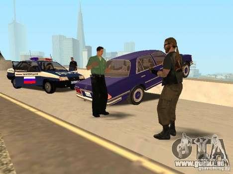 Un ACCIDENT sur le pont de Garver pour GTA San Andreas