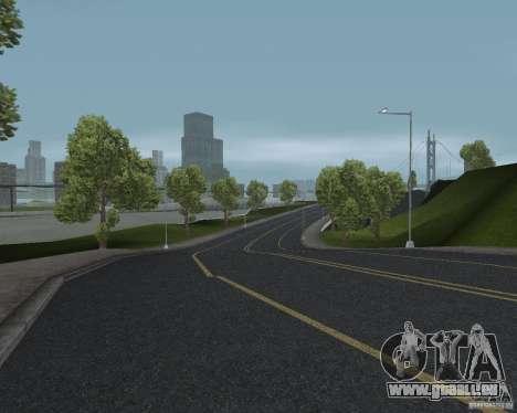 Nouvelles textures route pour GTA UNITED pour GTA San Andreas quatrième écran
