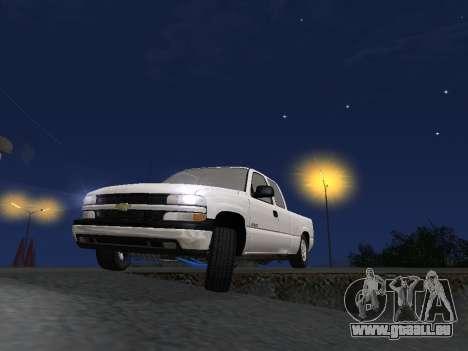 Chevorlet Silverado 2000 für GTA San Andreas Unteransicht