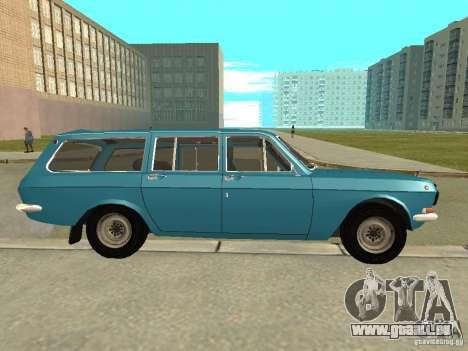 GAZ Volga 24-12 für GTA San Andreas linke Ansicht