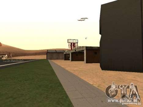 Le nouvel aéroport pour GTA San Andreas troisième écran