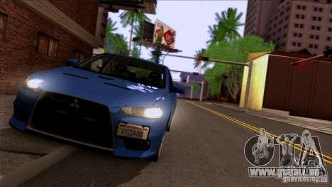 SA Beautiful Realistic Graphics 1.3 pour GTA San Andreas cinquième écran