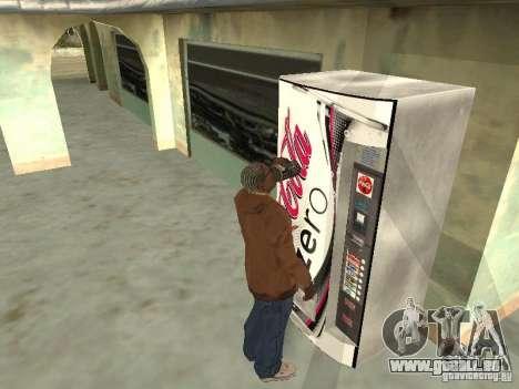 Nouvelles machines pour GTA San Andreas deuxième écran