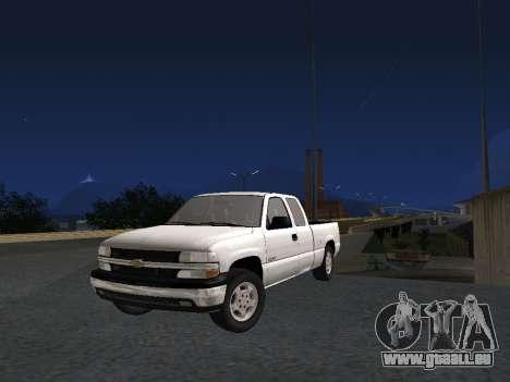 Chevorlet Silverado 2000 für GTA San Andreas