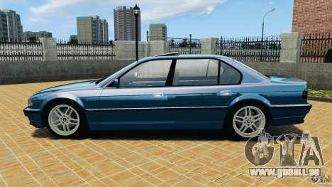BMW 750iL E38 1998 pour GTA 4 est une gauche