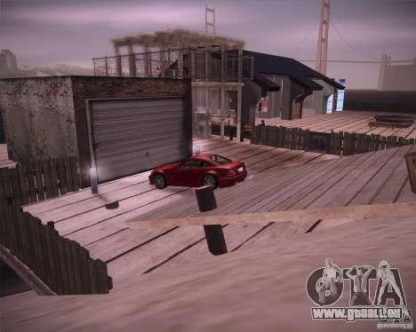 Beach House pour GTA San Andreas deuxième écran