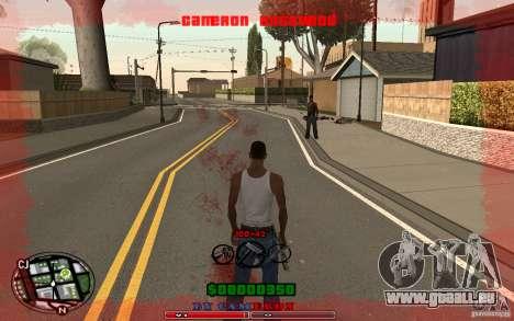 Cleo HUD by Cameron Rosewood V1.0 pour GTA San Andreas troisième écran