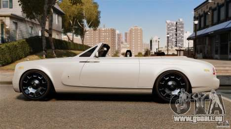Rolls-Royce Phantom Convertible 2012 für GTA 4 linke Ansicht
