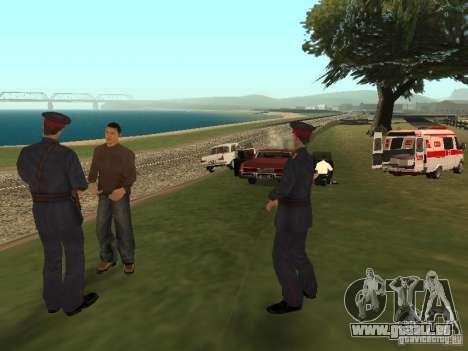 Un horrible accident pour GTA San Andreas