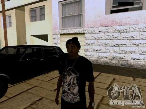 Guy noir pour GTA San Andreas