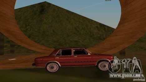 VAZ 2106 pour une vue GTA Vice City de la droite