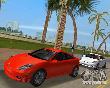 Toyota Celica 2JZ-GTE noir Revel pour GTA Vice City