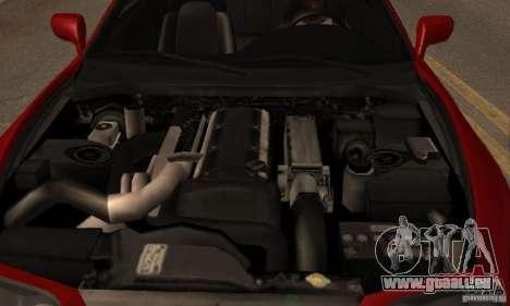 Toyota Supra Targa pour GTA San Andreas vue arrière