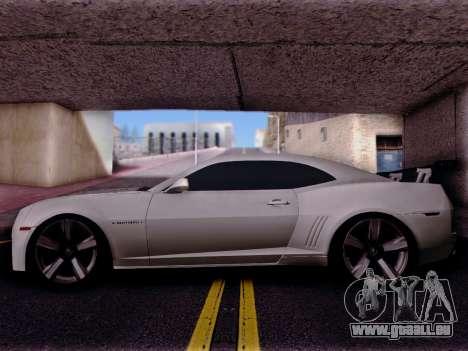 Chevrolet Camaro ZL1 SSX pour GTA San Andreas laissé vue
