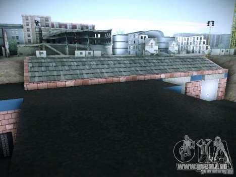 Nouveau garage à San Fierro pour GTA San Andreas sixième écran
