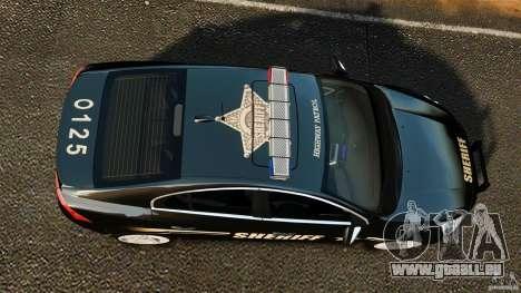 Volvo S60 Sheriff pour GTA 4 est un droit