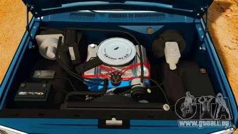 Ford Bronco 1980 für GTA 4 Rückansicht