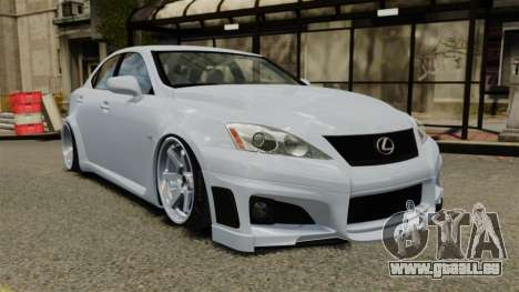 Lexus IS F 2009 für GTA 4