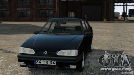 Renault 19 RL für GTA 4 rechte Ansicht