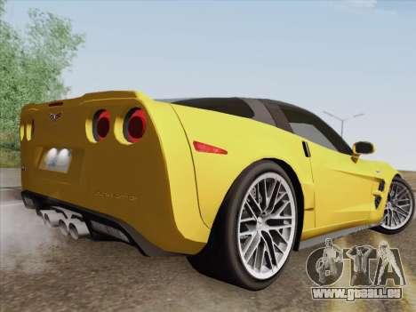 Chevrolet Corvette ZR1 für GTA San Andreas