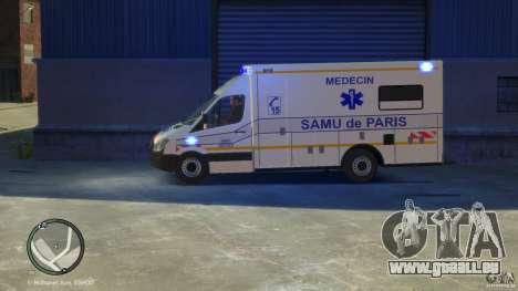 Mercedes-Benz Sprinter Ambulance für GTA 4 rechte Ansicht