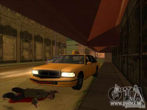 Blut mit dem v2 für GTA San Andreas her Screenshot