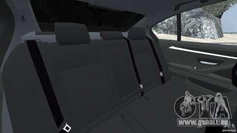 BMW M5 2012 pour GTA 4 est un côté