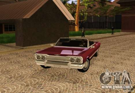 Savanna Detroit 1965 pour GTA San Andreas