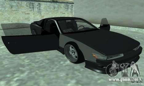 Nissan SIL80 pour GTA San Andreas sur la vue arrière gauche