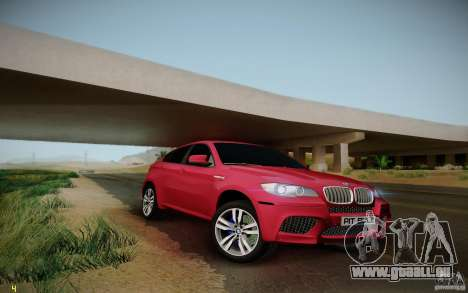BMW X6 v1.1 für GTA San Andreas Rückansicht