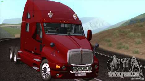 Kenworth T2000 V 2.7 pour GTA San Andreas