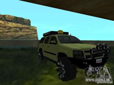 Chevrolet Tahoe Off Road pour GTA San Andreas vue de droite