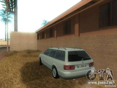 Volkswagen Passat B4 Variant für GTA San Andreas zurück linke Ansicht