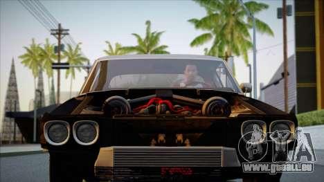 Chevrolet Chevelle SS 454 1970 pour GTA San Andreas laissé vue