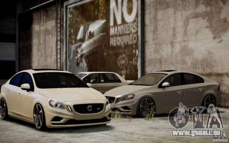 Volvo S60 R-Design 2011 pour GTA 4 est un côté