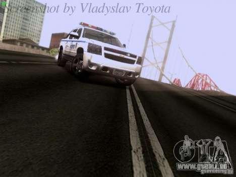 Chevrolet Avalanche 2007 pour GTA San Andreas vue de droite