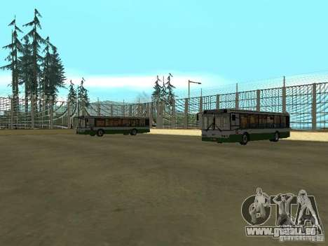 4-th Bus v1. 0 für GTA San Andreas dritten Screenshot