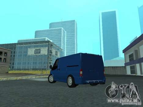 Ford Transit Sport 2011 für GTA San Andreas rechten Ansicht