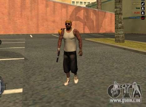 LoSV3 pour GTA San Andreas deuxième écran