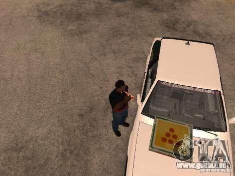 CJ affamé v. 3 final pour GTA San Andreas troisième écran