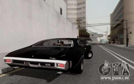 Chevrolet Chevelle SS 454 1970 für GTA San Andreas rechten Ansicht