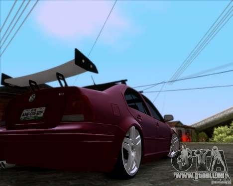Volkswagen Jetta 2005 für GTA San Andreas zurück linke Ansicht