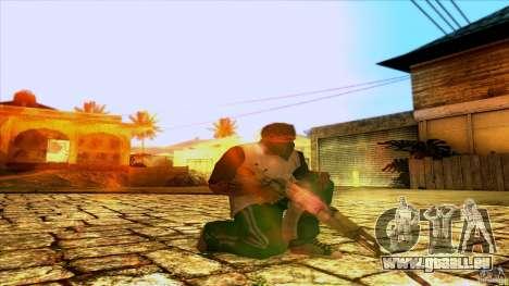 AK-47 from Far Cry 3 für GTA San Andreas zweiten Screenshot