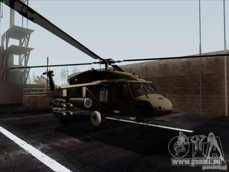 S-70 Battlehawk pour GTA San Andreas