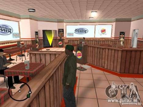 Nouveaux restaurants de textures pour GTA San Andreas deuxième écran