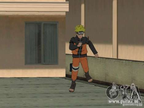 Skin Pack From Naruto für GTA San Andreas her Screenshot